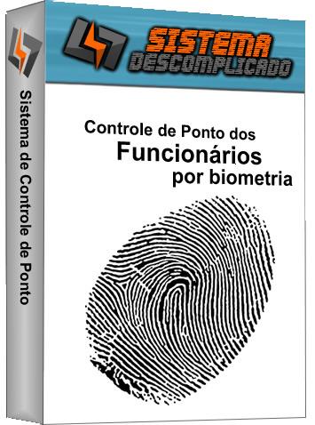 Controle de Ponto Biométrico -  VE SOFTWARE